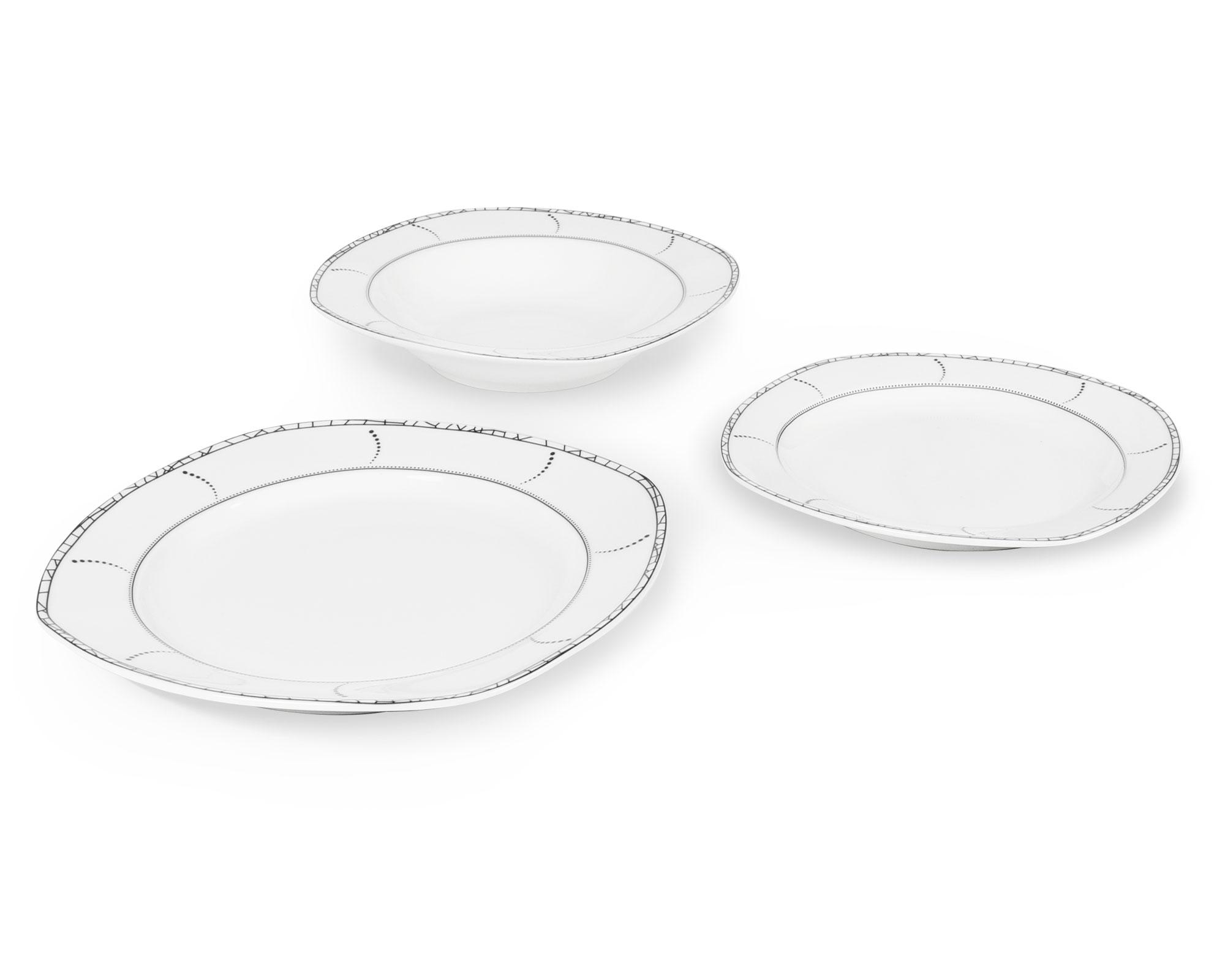 Pocelain dinnerware set 18pcs